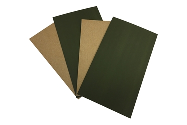 50449 Board, MIL-PRF-50449, also designated as MIL-F-50449, is a special material often used in ammunition containers. We inventory Marines forest green.