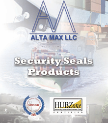 Alta Max Brochure Alta Max Brochure, Cable Seals, Military Packaging, Commercial Packaging, Bolt Seal, Cable Seal, Corrigated Boxes, Mil Spec Box,