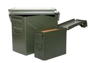 Metal Ammo Boxes / Cans