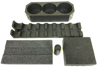Molded Foam - We provide Foams, Polyethylene, Polystyrene, Polyurethane, Polypropylene, Molded Foam, and Anti Static Foam for Military & Commercial Packaging.